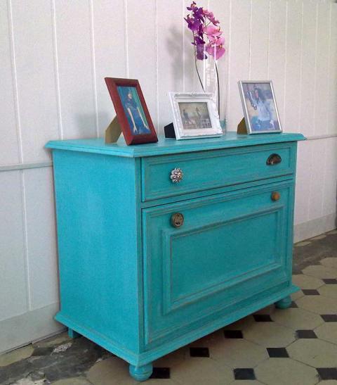 shabby chic schuhschrank christopher kleiddich. Black Bedroom Furniture Sets. Home Design Ideas