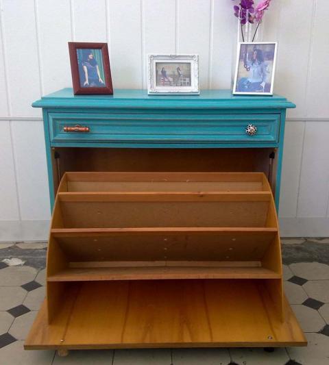 shabby chic schuhschrank elise kleiddich. Black Bedroom Furniture Sets. Home Design Ideas