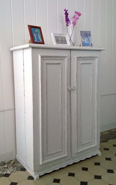 shabby chic schuhschrank eva kleiddich. Black Bedroom Furniture Sets. Home Design Ideas