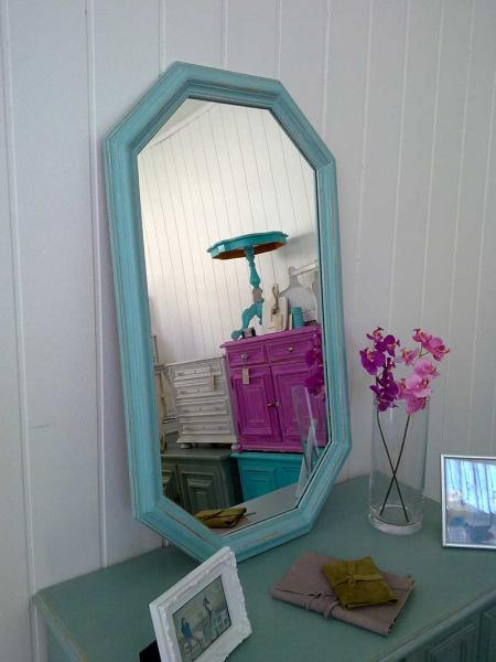 shabby chic spiegel alexis kleiddich. Black Bedroom Furniture Sets. Home Design Ideas
