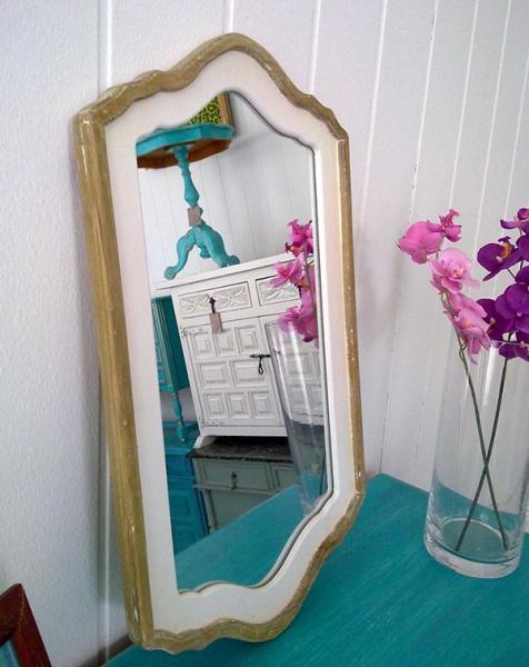shabby chic spiegel jolie kleiddich. Black Bedroom Furniture Sets. Home Design Ideas