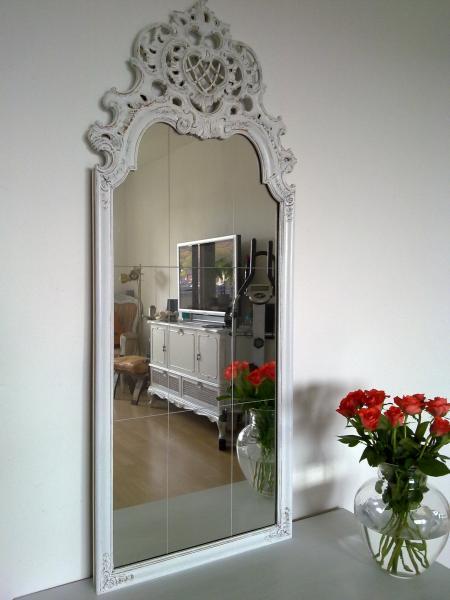 shabby chic spiegel viktor kleiddich. Black Bedroom Furniture Sets. Home Design Ideas