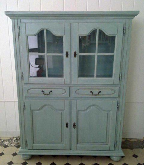 shabby chic vitrine marlene kleiddich. Black Bedroom Furniture Sets. Home Design Ideas