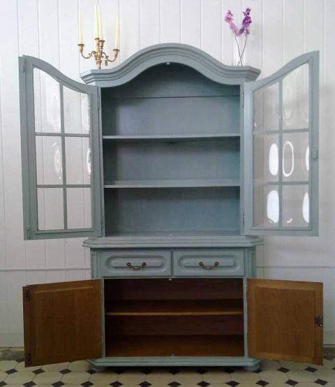 shabby chic vitrine aurora kleiddich. Black Bedroom Furniture Sets. Home Design Ideas